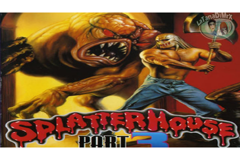 Splatterhouse 3 (スプラッターハウスPART3) GOOD END Sega Mega Drive ...