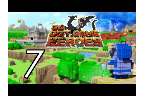 Let's Play 3D Dot Game Heroes [7] Desert Temple - YouTube