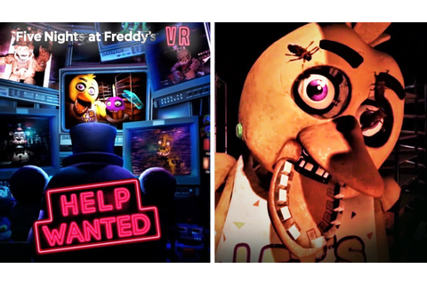 FNAF VR: Help Wanted Trailer Analysis & Reaction - The ...