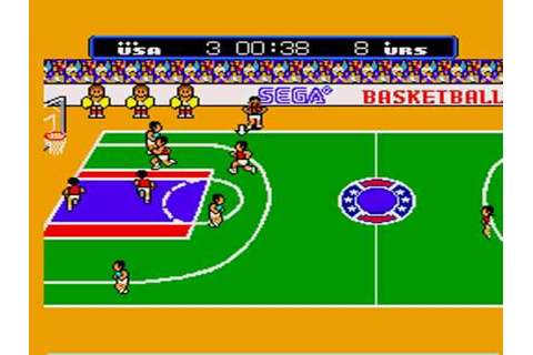 """Power Up!"" Great Basketball for Sega Master System - YouTube"