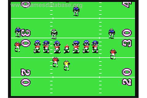 TV Sports: Football - Commodore 64 - Games Database