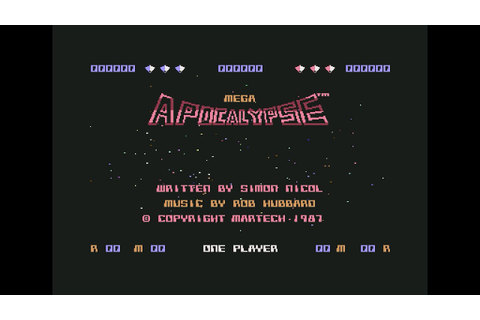 Mega Apocalypse - C64 - YouTube
