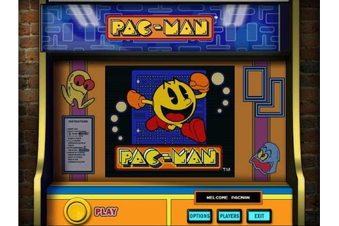 NAMCO ALL-STARS - PAC-MAN (PC) - Game Play - YouTube