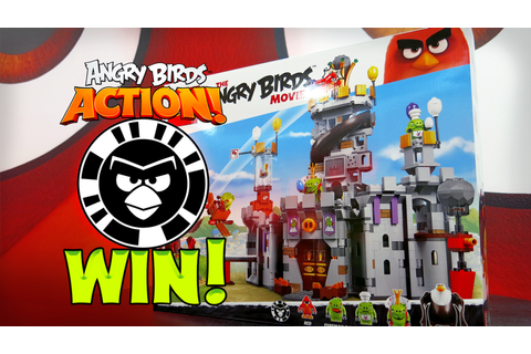 Win a LEGO The Angry Birds Movie set with Angry Birds ...