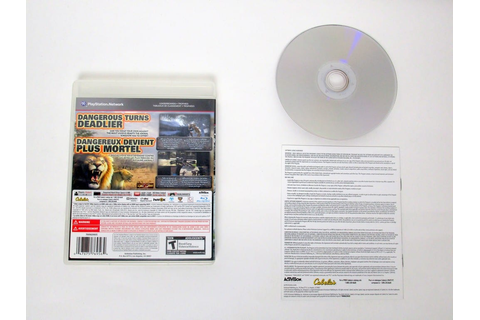 Cabela's Dangerous Hunts 2013 game for Sony PlayStation 3 ...