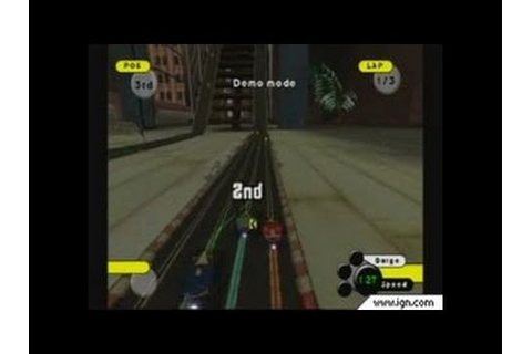 Grooverider: Slot Car Thunder GameCube Gameplay - Intense ...