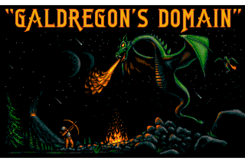 Galdregon's Domain (1988) Amiga game