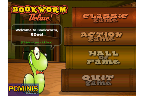 BookWorm Deluxe! Full PRE-CRACKED (Free Download For PC ...
