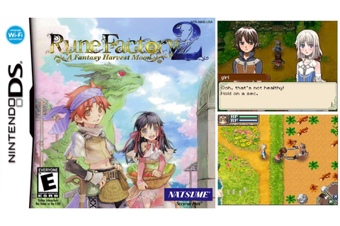 Rune Factory: A Fantasy Harvest Moon (NINTENDO DS) - YouTube