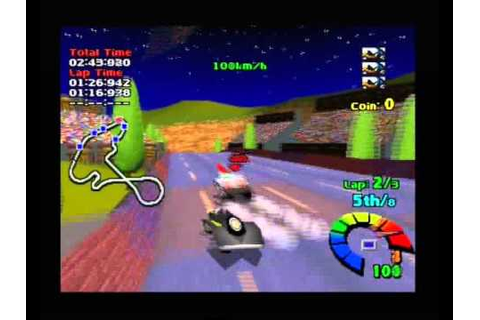 Motor Toon Grand Prix 2 PS1 - YouTube