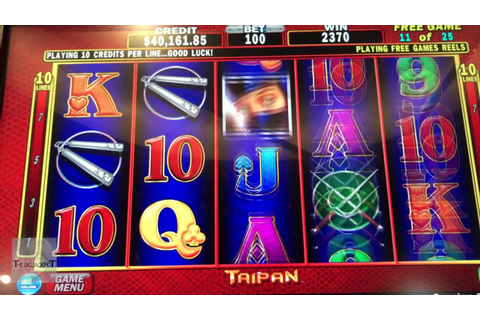 $5,040 Jackpot! | 25 FREE Games | Taipan Game | The ...