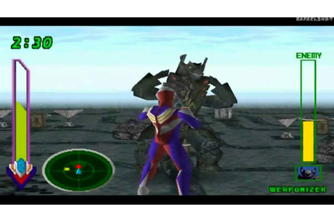 Ultraman Tiga & Ultraman Dyna:New Generations PS1 (Part 6 ...