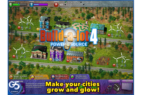 G5 Games - Build-a-lot 4: Power Source