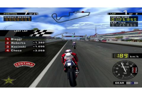 MotoGP (PS2) Norick Abe || Paul Ricard - YouTube