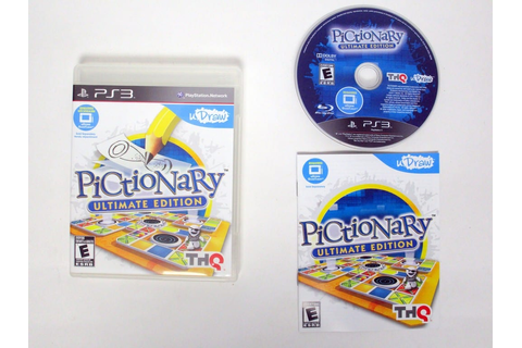 uDraw Pictionary: Ultimate Edition game for Playstation 3 ...