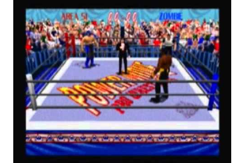 Power move Pro Wrestling (Playstation) Best Wrestling ...