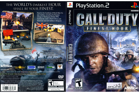 KML GAMES: Call Of Duty: Finest Hour