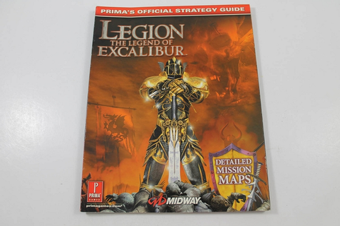 Legion: the Legend of Excalibur Official Strategy Guide ...