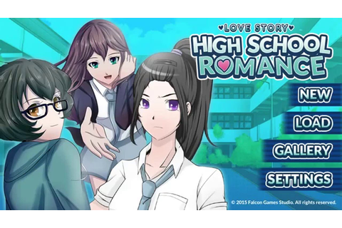 Love Story Highschool Romance (Playthrough Part1) - YouTube