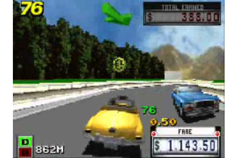 Crazy Taxi - Catch A Ride GBA Gameplay Part 1 - YouTube