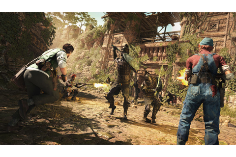 Strange Brigade- 14 minutes of gameplay > GamersBook