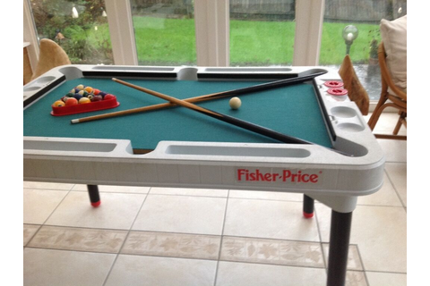 Fisher Price 3 in 1 tournament table - pool - table tennis ...