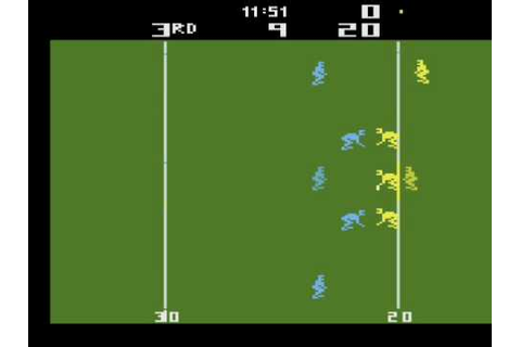 Realsports Football Atari 2600 Review - YouTube