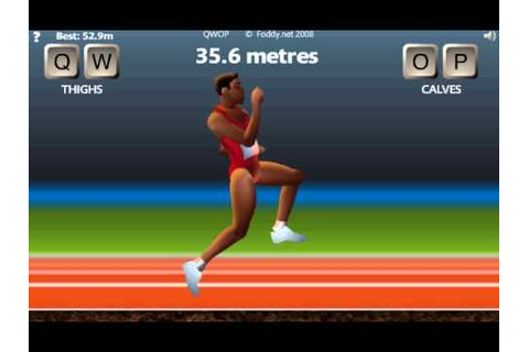 QWOP Speedrun (1:26.52) - YouTube