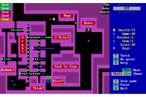 Town of ZZT - IndieFAQs