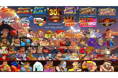 Street Fighter 30th Anniversary Collection Wallpap by ...
