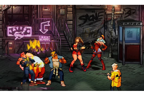 A New Streets of Rage Video Game Has Been Announced - Gameranx