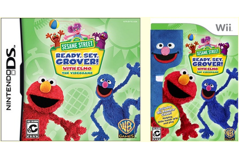 Sesame Street: Ready, Set, Grover! for DS and Wii