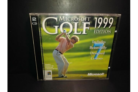 Microsoft Golf 1999 Edition (PC, 1999) for sale online | eBay