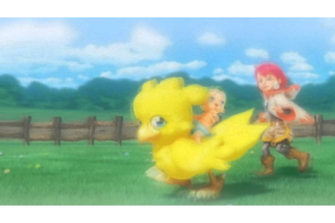 Final Fantasy Fables Chocobos Dungeon Intro Song - YouTube
