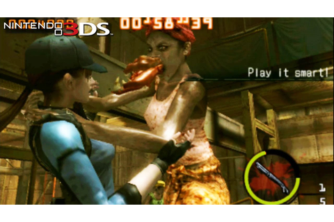 Resident Evil: The Mercenaries 3D - Gameplay Nintendo 3 ...