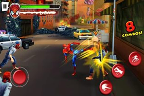Spider-Man: Total Mayhem HD para Symbian - Descargar