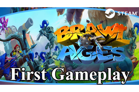 Brawl of Ages Watcha Playin'? First Gameplay Strategy Game ...