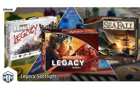 Spotlight on Legacy Games | Meeple Mountain