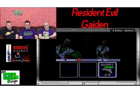 Resident Evil Gaiden | Game Boy Color - YouTube