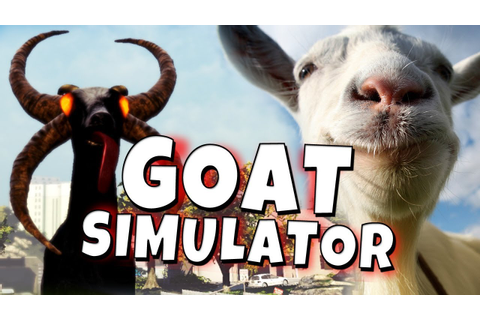 Goat Simulator Co-Op Gameplay - Xbox One - YouTube