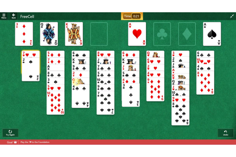 Microsoft Solitaire Collection - FreeCell - December 11 ...