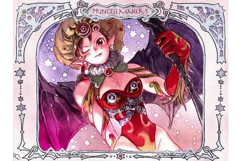 Princess Maker 5 English Ending 7 Queen of Hell - YouTube