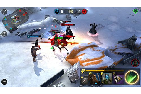 Star wars: Force arena iPhone game - free. Download ipa ...