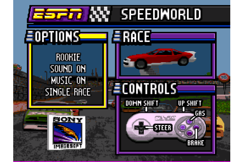 ESPN Speedworld (USA) ROM Download