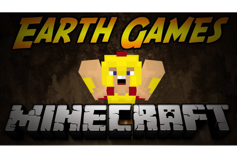MInecraft NEW Minigame Server - EARTH GAMES - YouTube