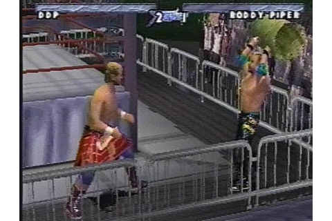 WCW/NWO Thunder Screenshots for PlayStation - MobyGames