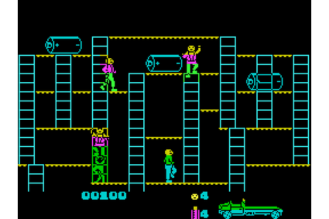 Bear Bovver screenshots for ZX Spectrum