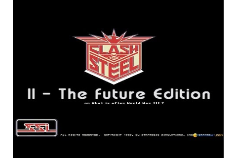 Clash of Steel Future edition gameplay (PC Game, 1995 ...
