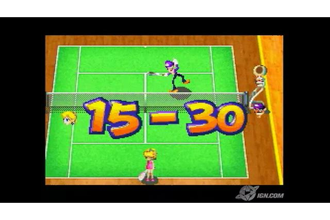 Mario Tennis Power Tour Game Boy Gameplay_2005_09_15_1