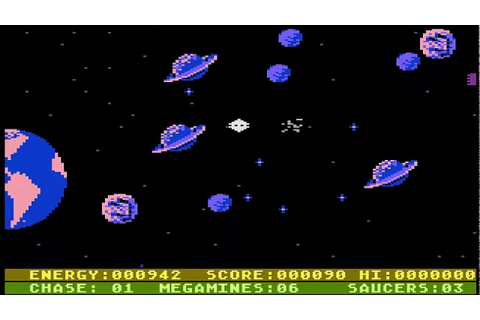 Astro Chase - Atari 5200 /Preview /Gameplay - YouTube